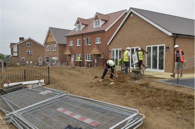The lack of house building in Kent is making it difficult to re-home people, according to charities. Picture: Martin Apps